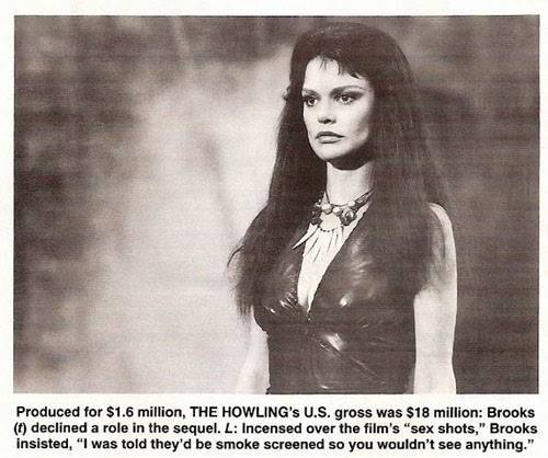3. ELISABETH BROOKS The Howling