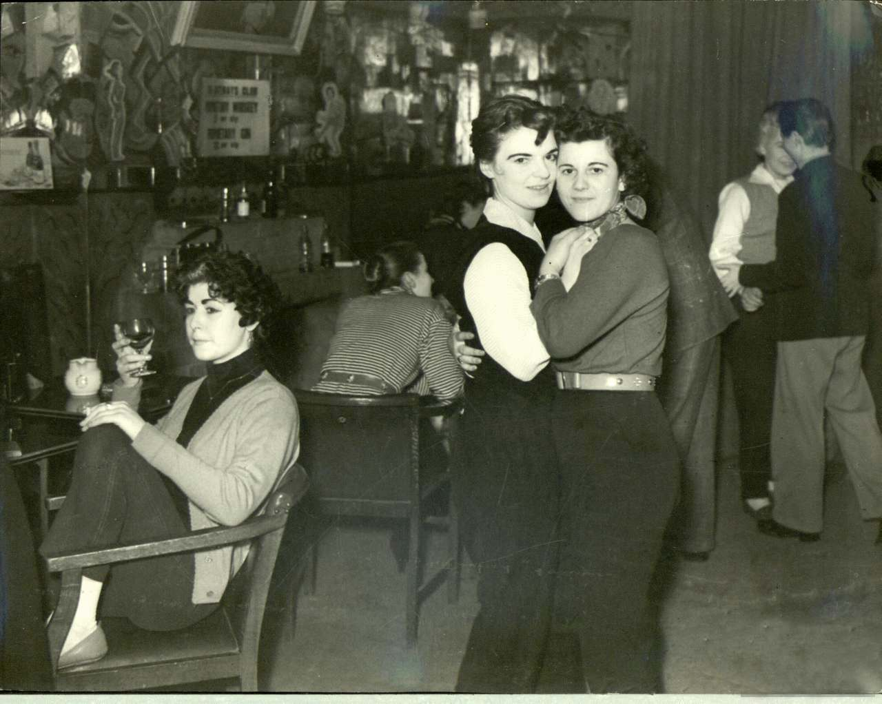 The Gateways Club in Chelsea c.1953.