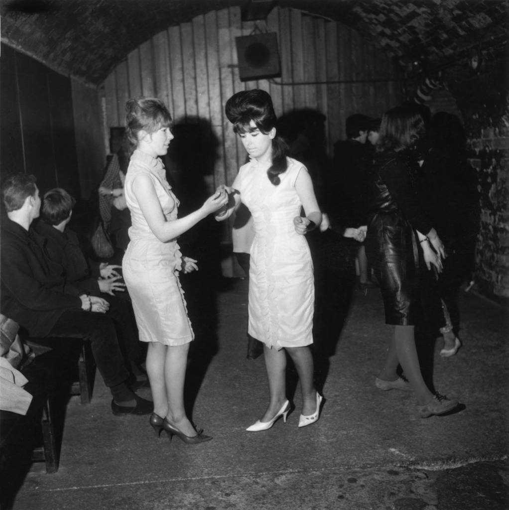Dancers at the Cavern Club, Liverpool, 29th April 1963. (Photo by John Pratt/Keystone Features/Hulton Archive/Getty Images)