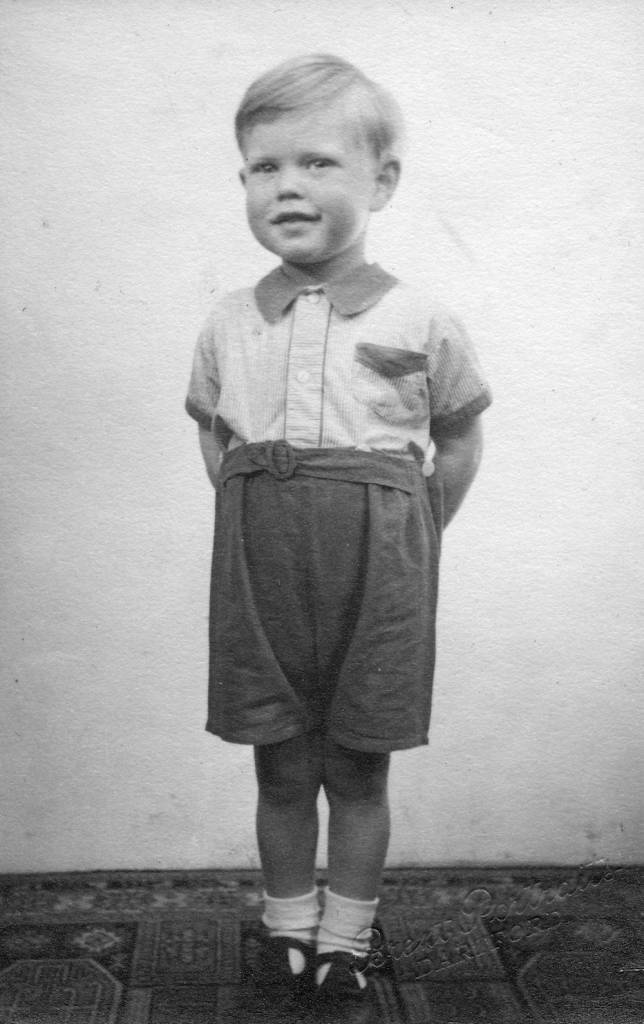 DARTFORD,UNITED KINGDOM - CIRCA 1946: (EMBARGOED FOR PRINT USAGE UNTIL THURSDAY JULY 2ND 2015) Mick Jagger (aged 3) looking smart at home in Brent Lane, Dartford (1946). This previously unseen image will form part of The Rolling Stones - 'Exhibitionism' at Londons Saatchi Gallery. Mick Jagger, Keith Richards, Charlie Watts and Ronnie Wood have opened their personal archives and found never before seen photographs of themselves as youngsters. These along with hundreds more rare and unseen images will create the first ever international Rolling Stones exhibition which will open at the Saatchi Gallery in April 2016. (Photo by Stones Archive/Getty Images)