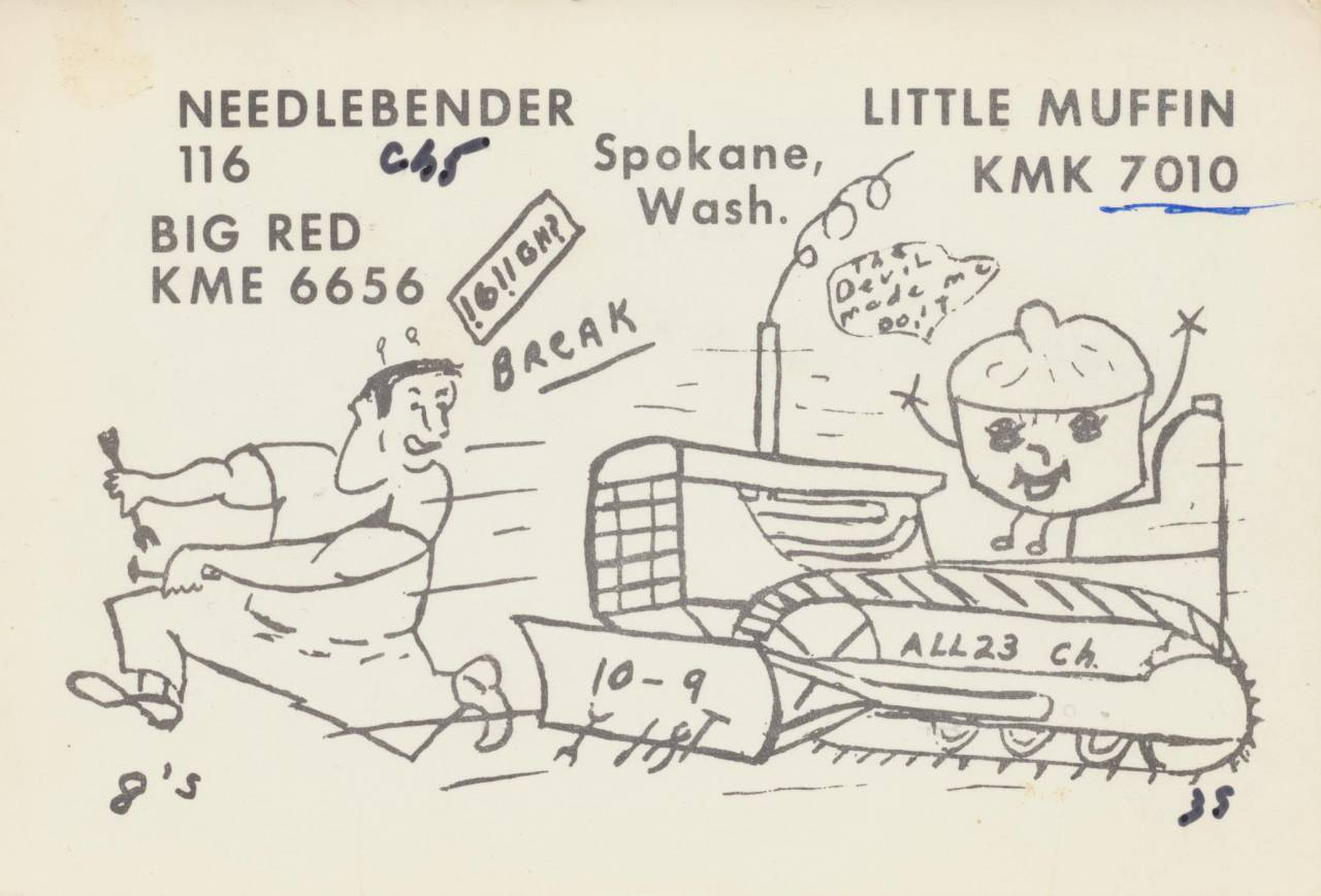 CB Radio QSL Cards
