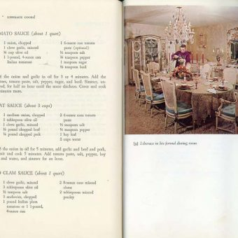 Liberace Cooks!: Hundreds of Delicious Recipes For You from His Seven Dining Rooms Liberace 1970
