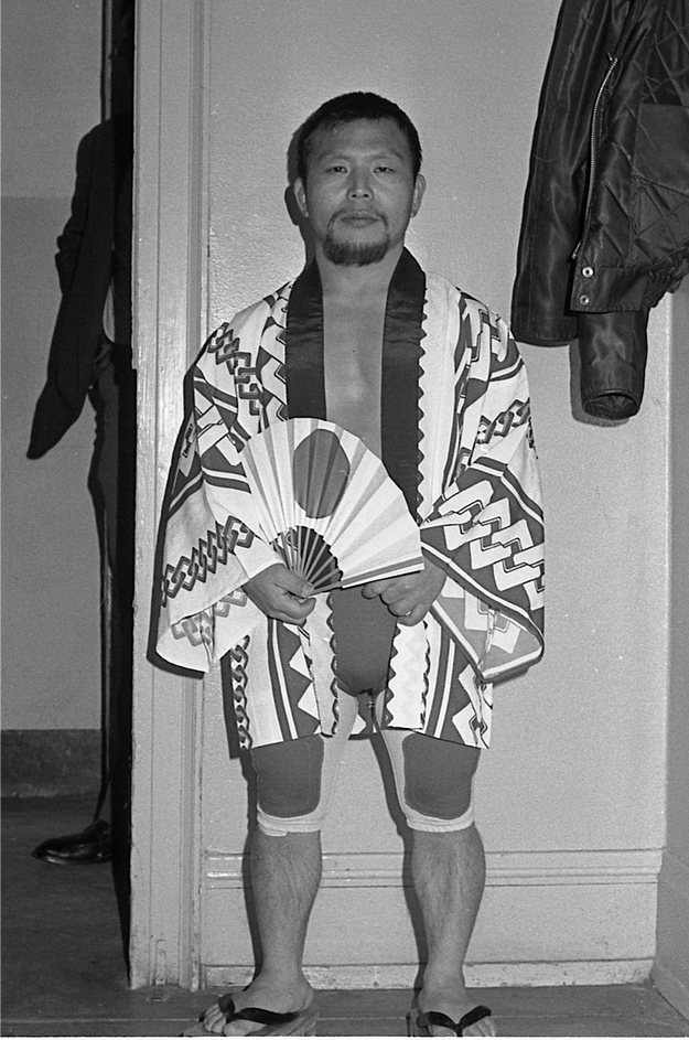 Little Tokyo (aka Shigeri Akabane) who was inspired to quit homeland and join Lord Littlebrook and his troupe after they visited Japan in the 1960s. Little Tokyo went on to win the NWA World Midget Champion three times equaling Lord Littlebrook's achievement.