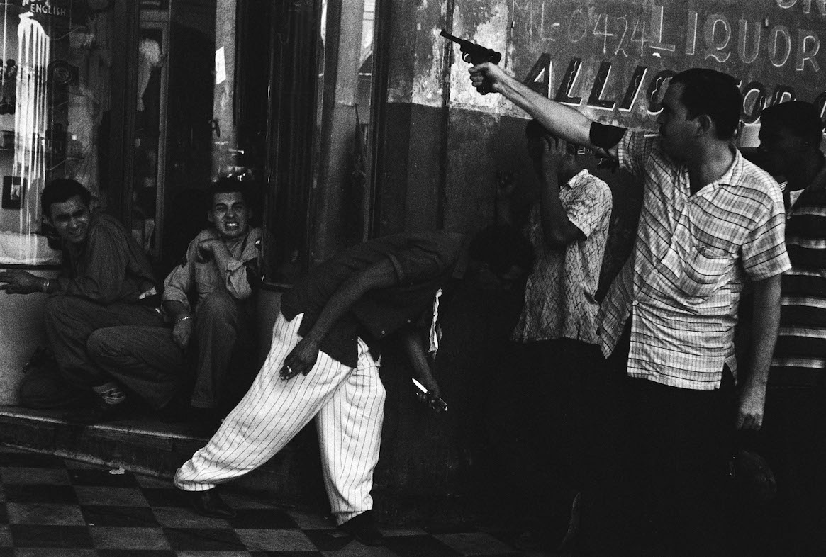 CUBA. Santa Clara. 1959. CASTRO sympathizers form an adhoc militia and secure whatever buildings are available. No photograph or digital file may be reproduced, cropped or modified (digitally or otherwise, and its caption may not be altered without prior written agreement from the photographer or a Magnum representative.