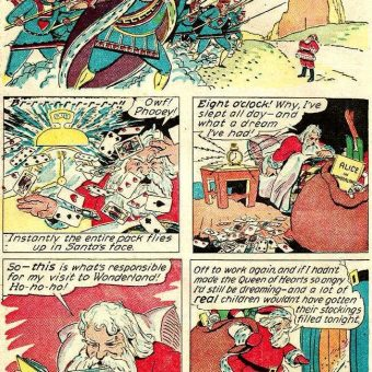 Santa On Shrooms: A Trippy 1943 Comic Book