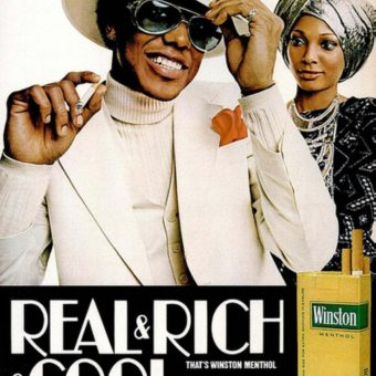 """Real & Rich & Cool"" The Winston 'Blaxploitation' Cigarette Ads"