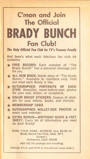 brady bunch book inside