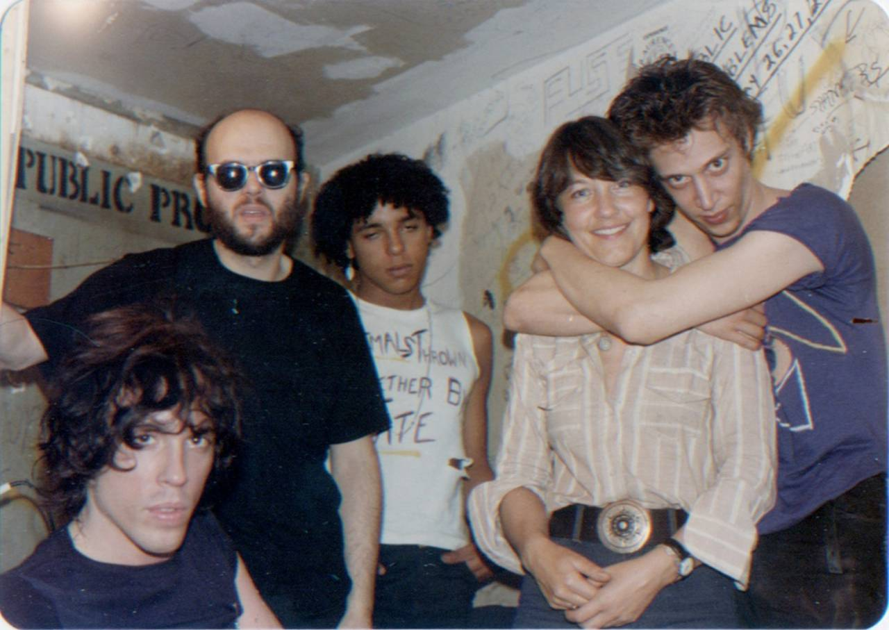 """Richard Hell still lives in the neighbourhood here. He was the frontman and the singer, and the others were the musicians. This is often what you see with these groups: he was a very jovial guy, the other two were kind of going along with the photo, standing there sheepishly. Group dynamics are fascinating."" All photographs: Marc H Miller And Bettie Ringma, courtesy Of 98 Bowery"