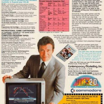 Remembering 'The Wonder Computer of the 1980s' – The Commodore VIC-20