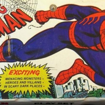 The Great Superhero Playsets of the 1970s