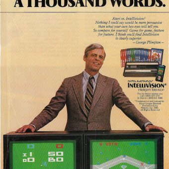 George Plimpton: Voice of Mattel's Intellivision