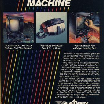 The High Performance Machine: Remembering GCE's Vectrex (1982)