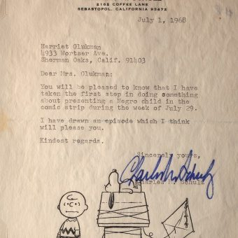 Why Charles M. Schulz Gave Peanuts A Black Character (1968)