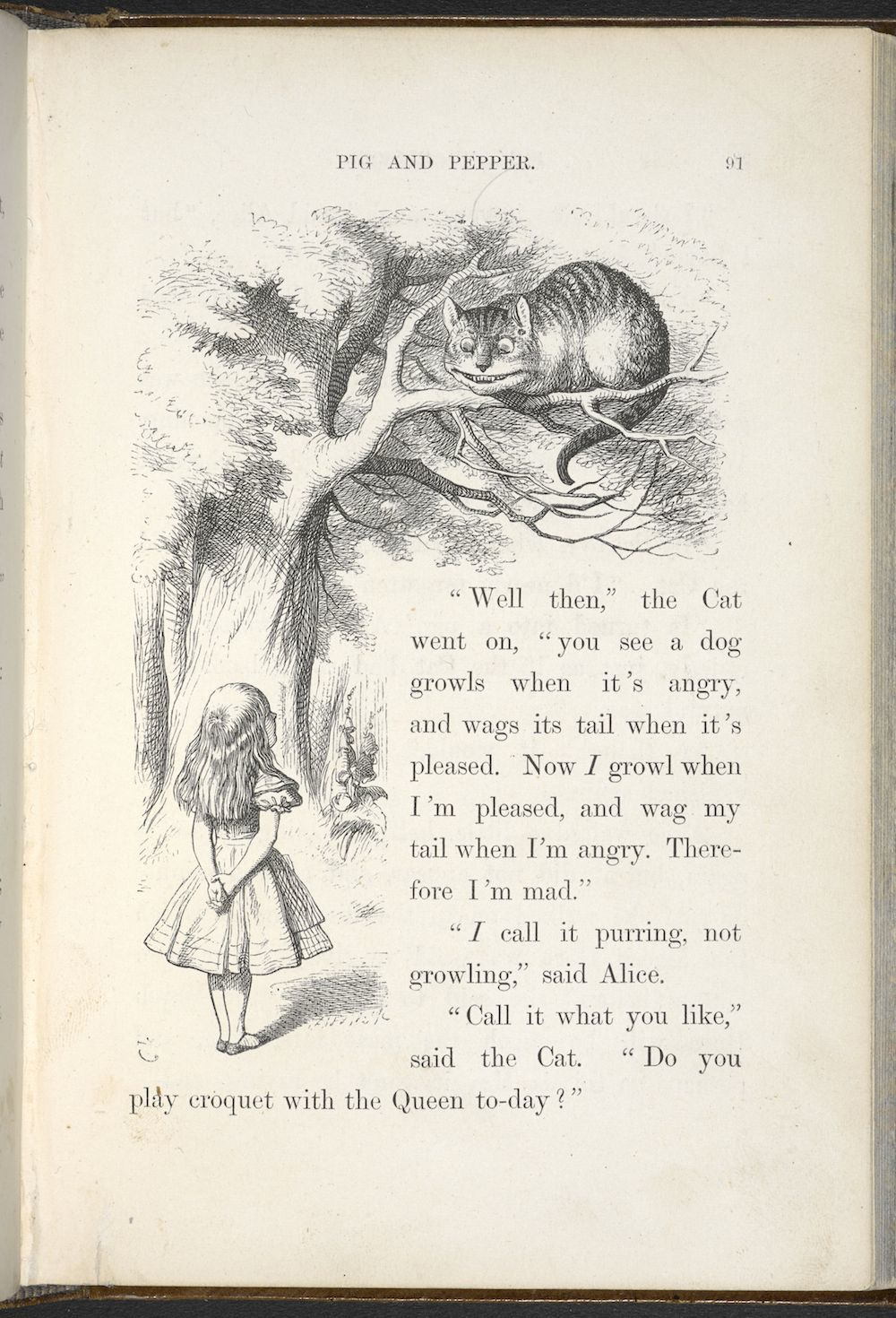 alice in wonderland by lewis carroll The imaginative english author lewis carroll wrote alice's adventures in  wonderland learn more about his influences and impact on.