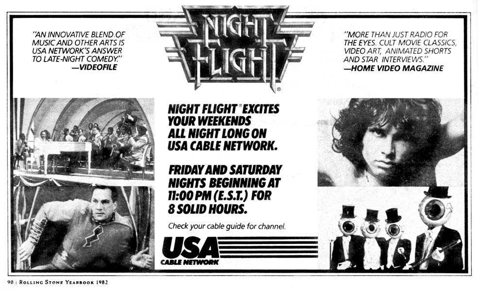 night flight tv show