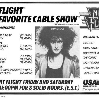 Remembering Night Flight TV (1981-1988)