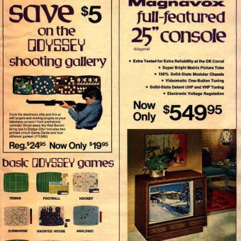 Thought, Action and Reaction: The Age of the Magnavox Odyssey (1972)