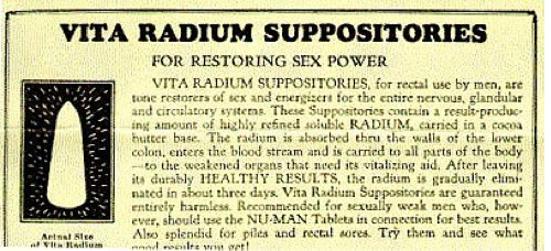 radium suppository