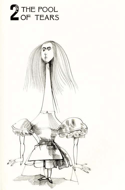 Lewis Carroll's Alice in Wonderland Illustrated by Ralph Steadman