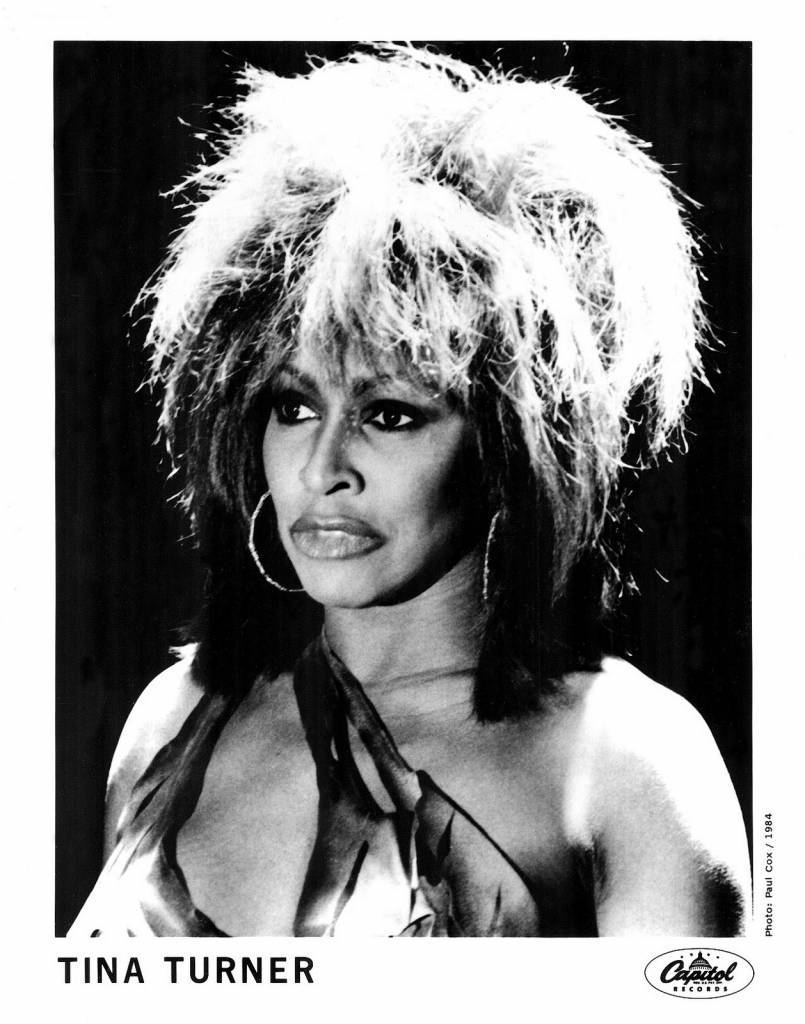 Tina Turner Press Photo  Capitol Records/USA Photo: Paul Cox (1984)