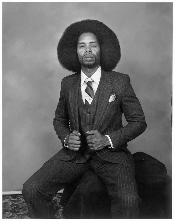 Man with Afro, San Francisco, California, 1984