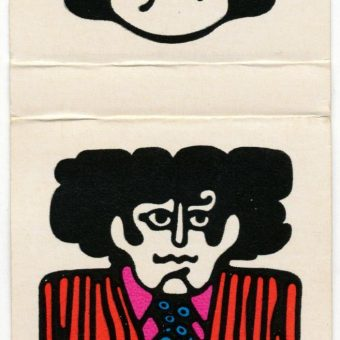 'Peter Max' Designer Series Matchbooks By The Ohio Match Company (1969)