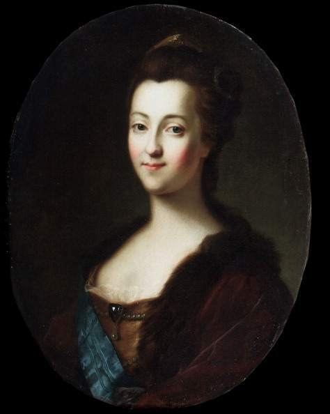 'Portrait of Empress Catherine II', 18th century. Artist: Vigilius Erichsen