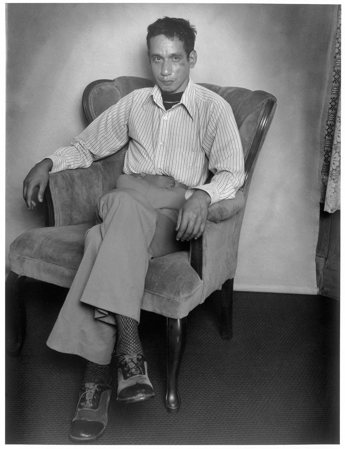 Man in Arm Chair, San Francisco, California, 1979