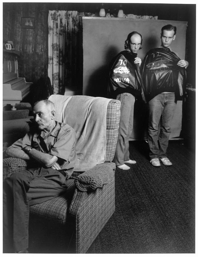 Brother's with Painted Jackets, St. James, Minnesota, 1988
