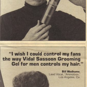 In 1985 Vidal Sassoon And Andy Warhol Sold Hair Products To The Bald