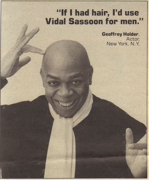 Vidal Sassoon hair advert 1985