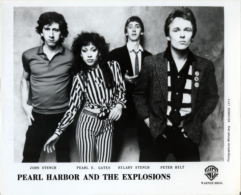 Pearl Harbor And The Explosions Press Photo Warner Bros. Records/USA