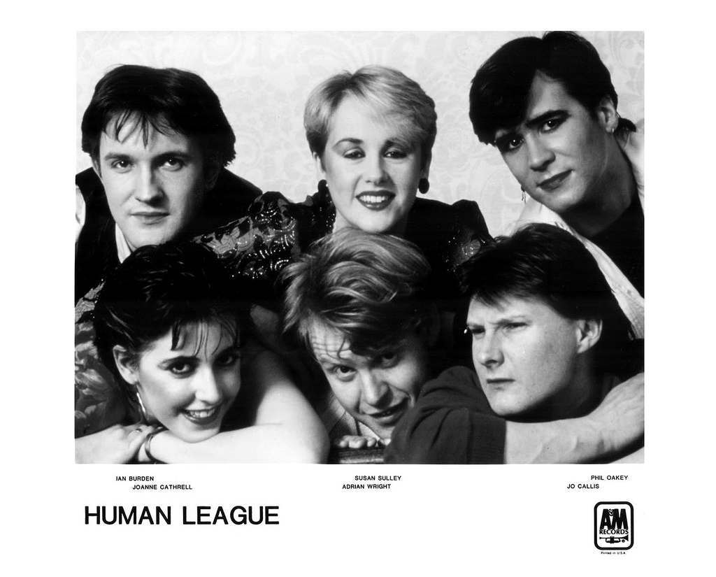 Human League Press Photo A&M Records/USA (1983)