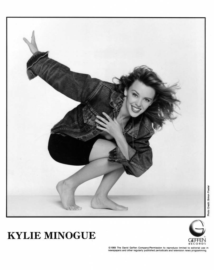 Kylie Minogue Press Photo Geffen Records/USA (1989)