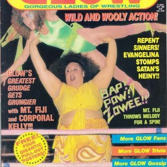 Remembering GLOW Magazine: Gorgeous Ladies of Wrestling