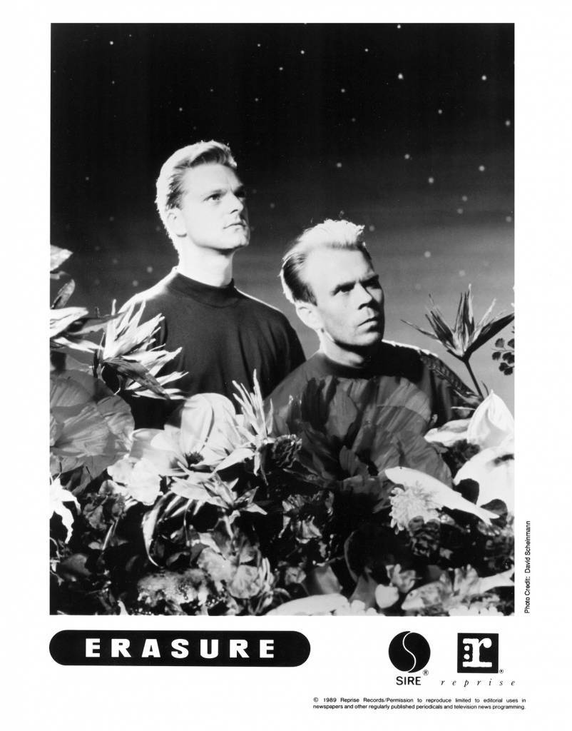 Erasure Press Photo Sire/Reprise Records (1989)