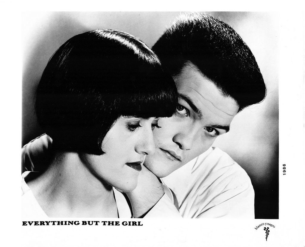 Everything But The Girl Press Photo Blanco y Negro Records/UK (1986)