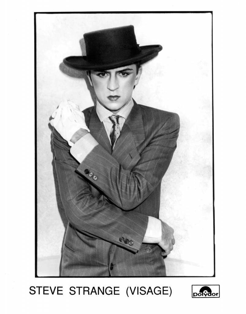 Steve Strange (Visage) Press Photo Polydor Records/UK