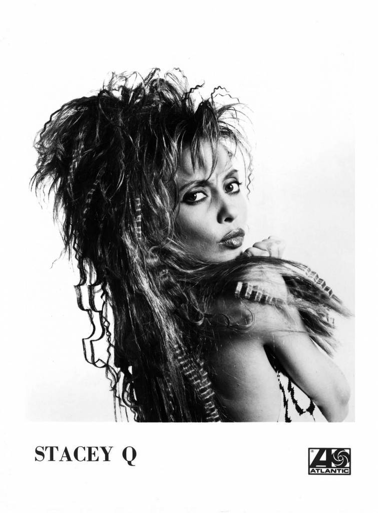 Stacey Q Press Photo Atlantic Records/USA (1986)