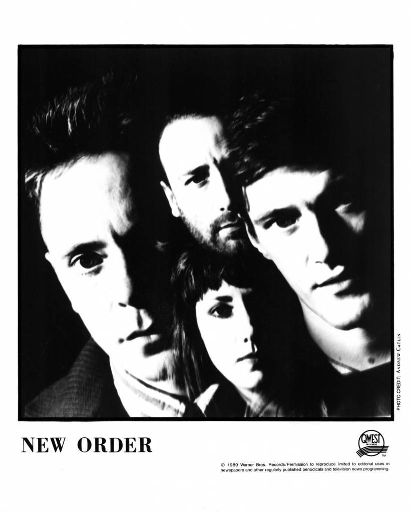New Order Press Photo Qwest Records/USA (1989)