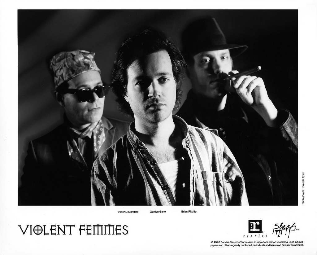 Violent Femmes Press Photo Reprise-Slash Records/USA (1983)
