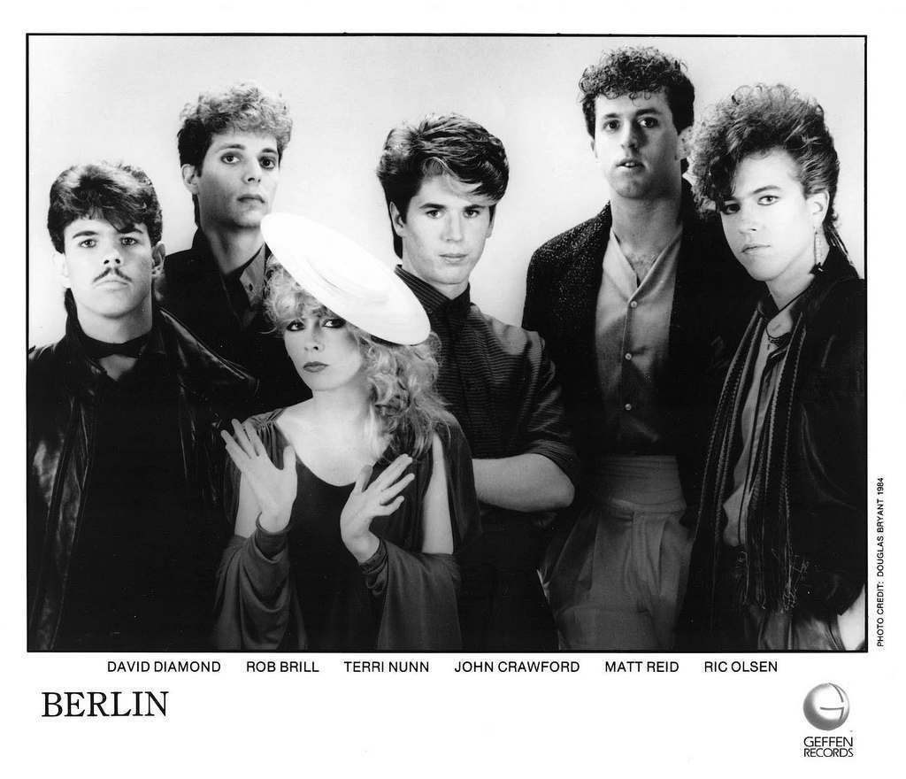 Berlin Press Photo Geffen Records/USA (1984)