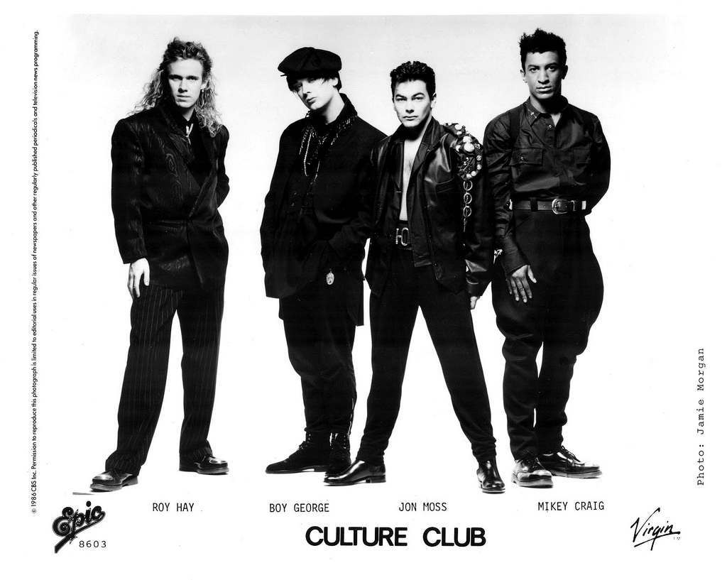 Culture Club Press Photo Epic Records/USA (1986)