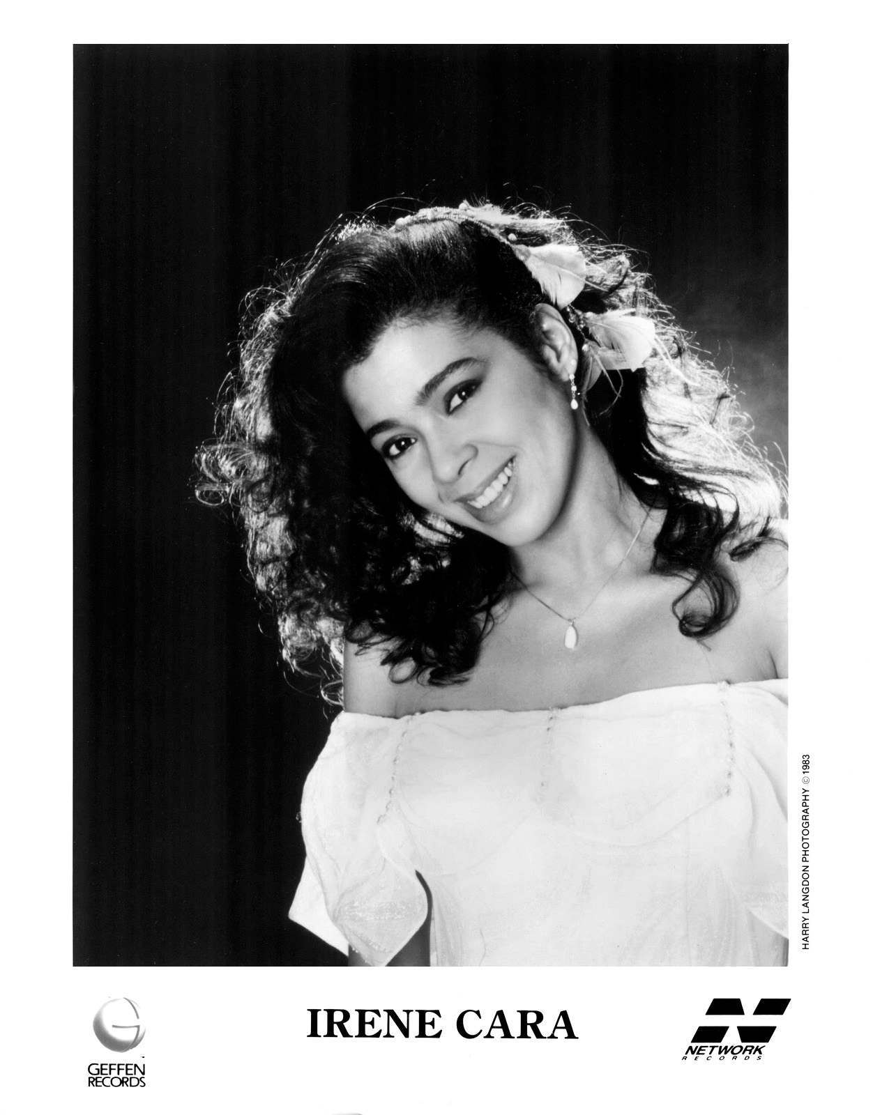 Irene Cara Press Photo Geffen Records/USA (1983)