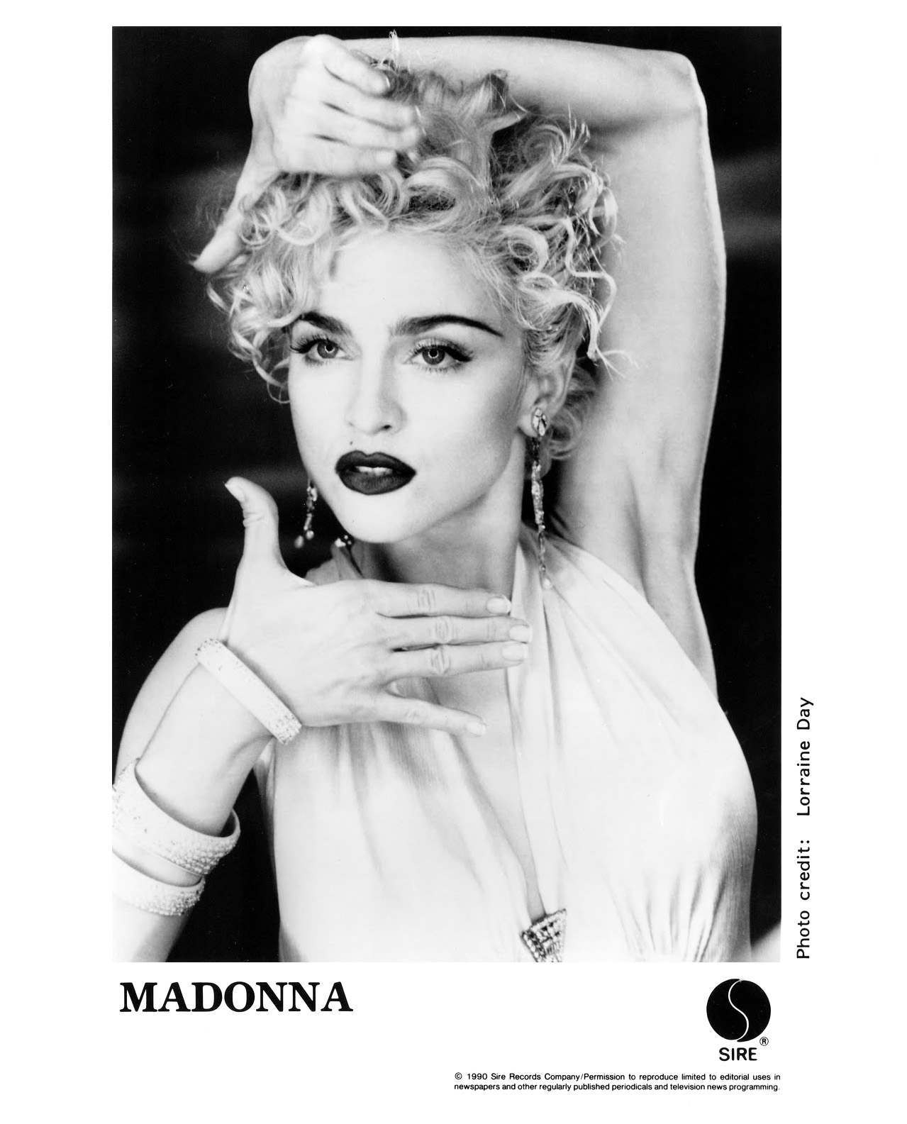 Madonna Press Photo Sire Records/USA (1990)