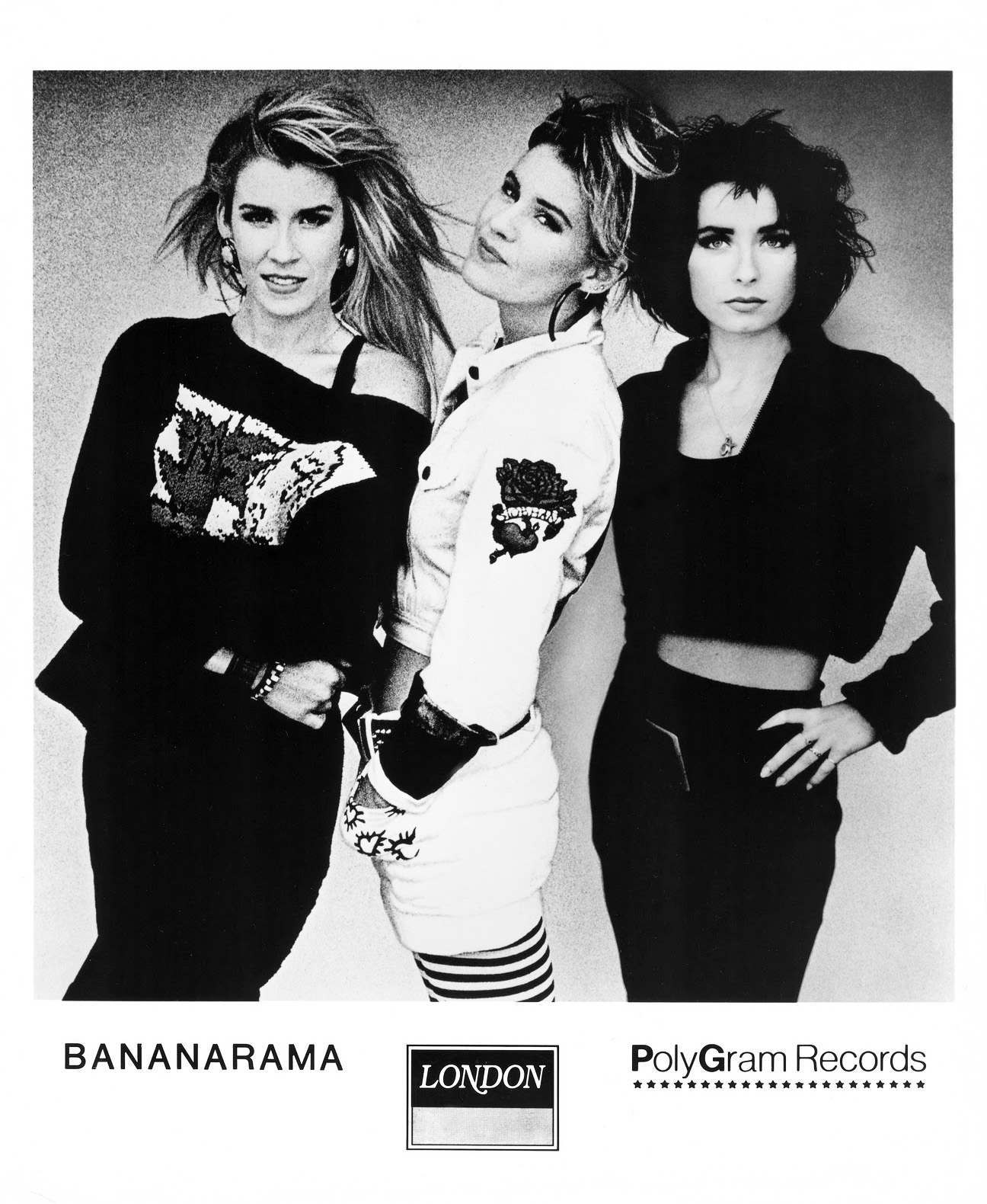 Bananarama Press Photo, London Records