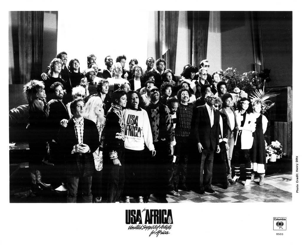 USA For Africa Press Photo Columbia Records/USA (1985)