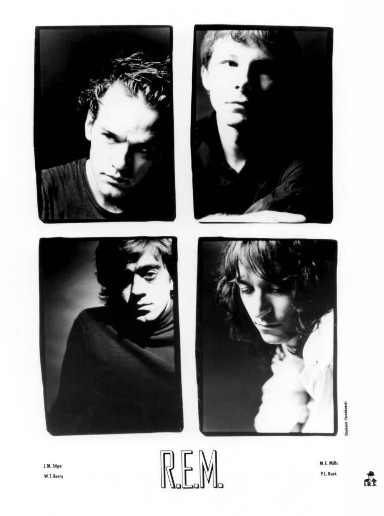 R.E.M. Press Photo I.R.S. Records/USA