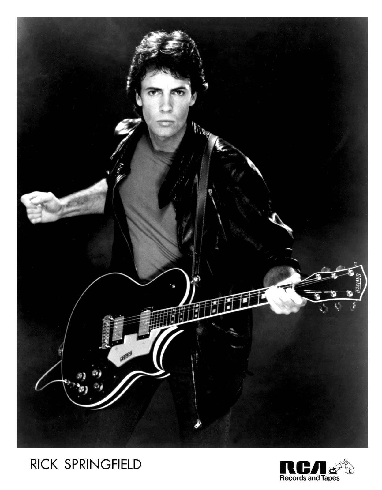 Rick Springfield Press Photo. RCA Records/USA (1982)