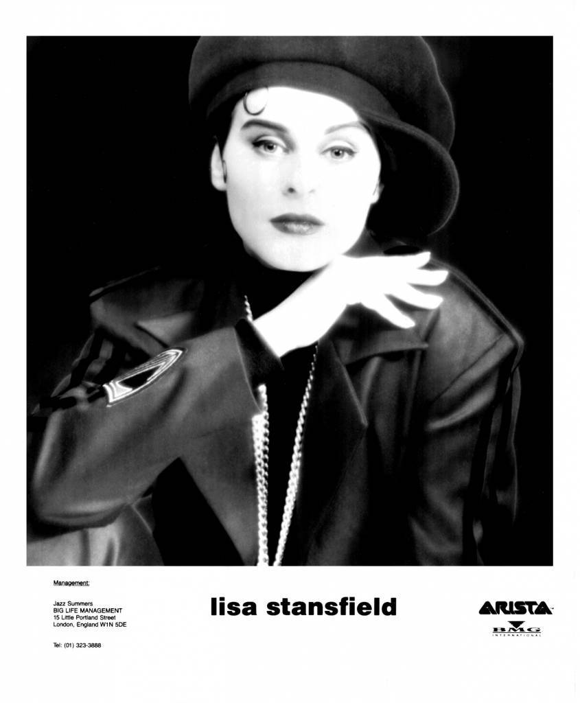 Lisa Stansfield Press Photo Arista Records